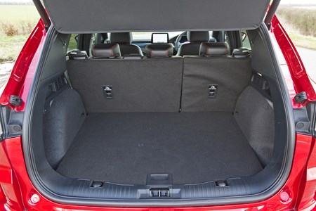 Ford Kuga 2020 Practicality Boot Space Dimensions Parkers