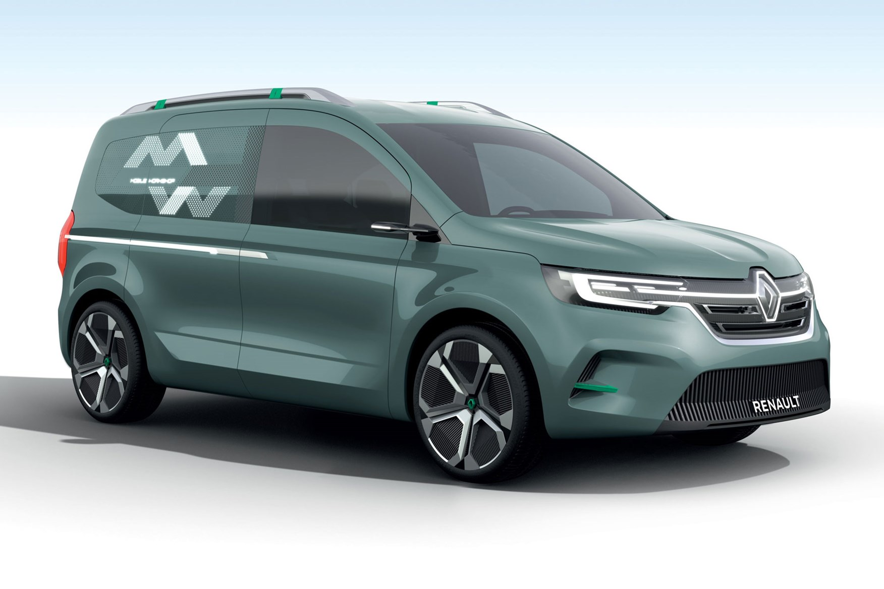 Renault Kangoo ZE concept for 2020-2021