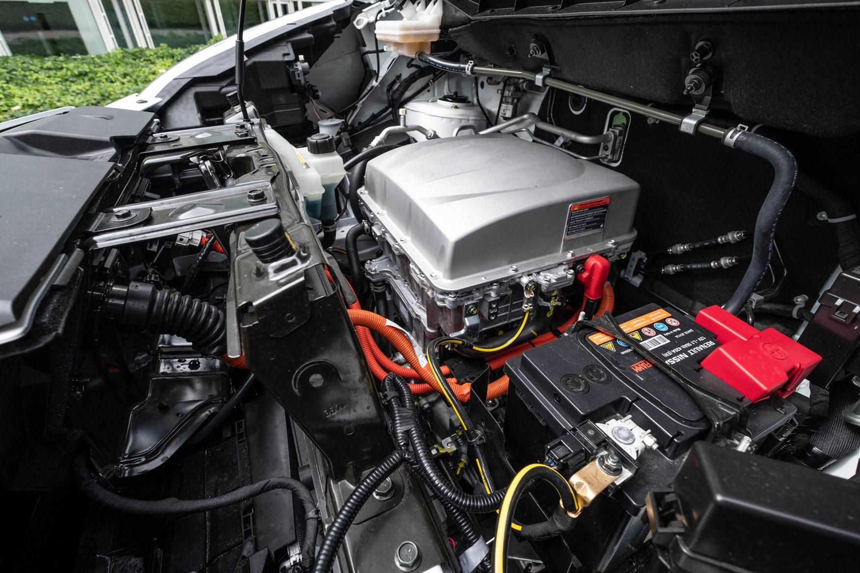 Nissan e-NV200 review, 2020, under the bonnet