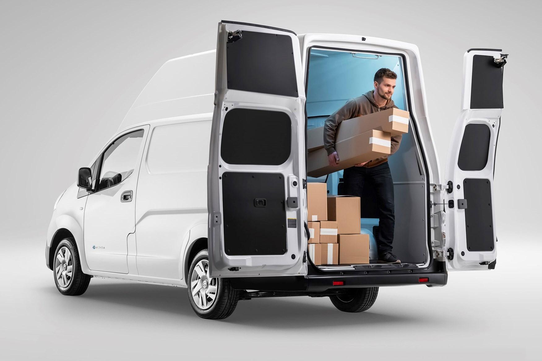 Nissan e-NV200 review, 2020, white, XL conversion