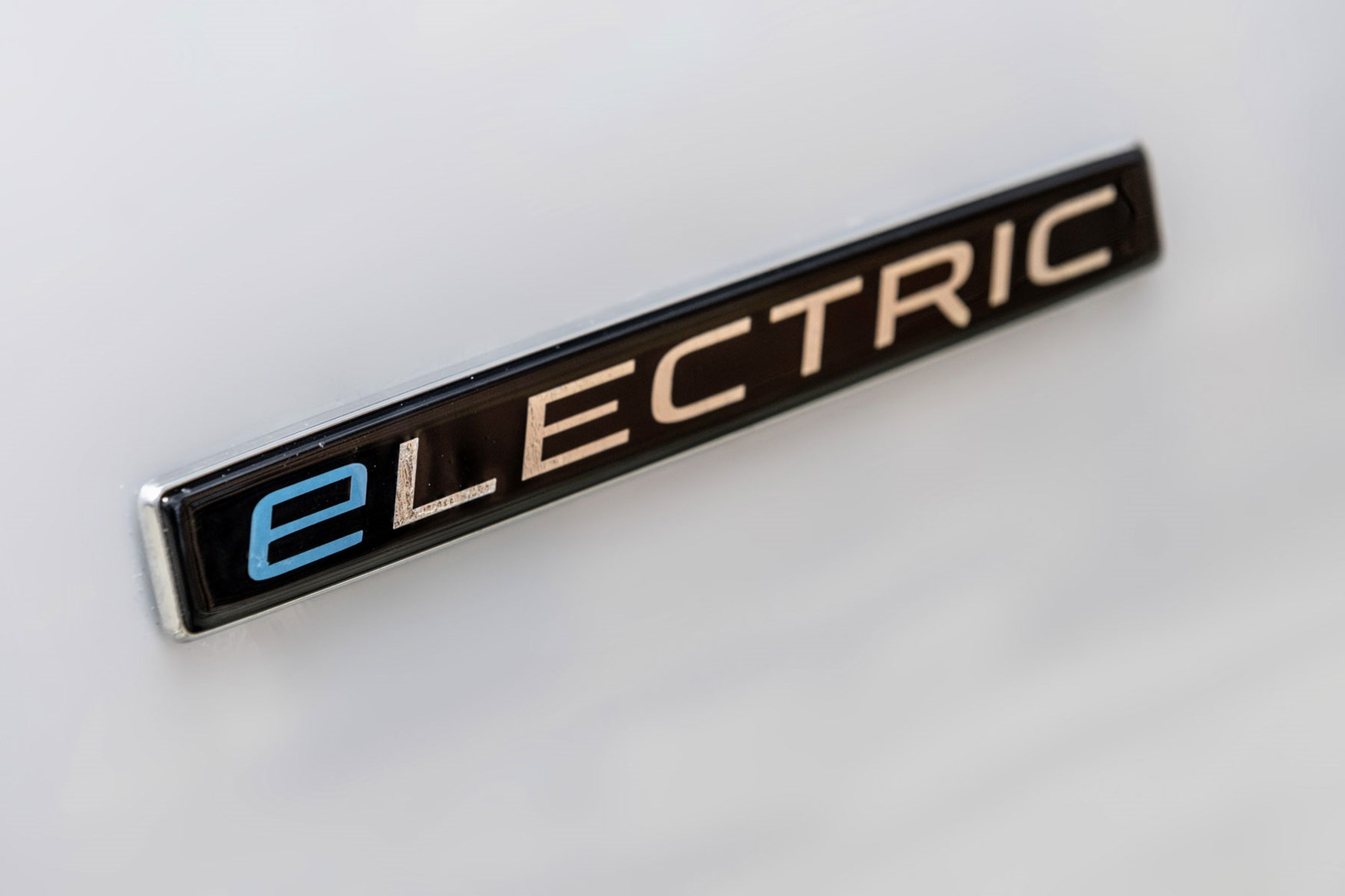 Mercedes-Benz eVito electric van review, 2020, Electric badge on front wing