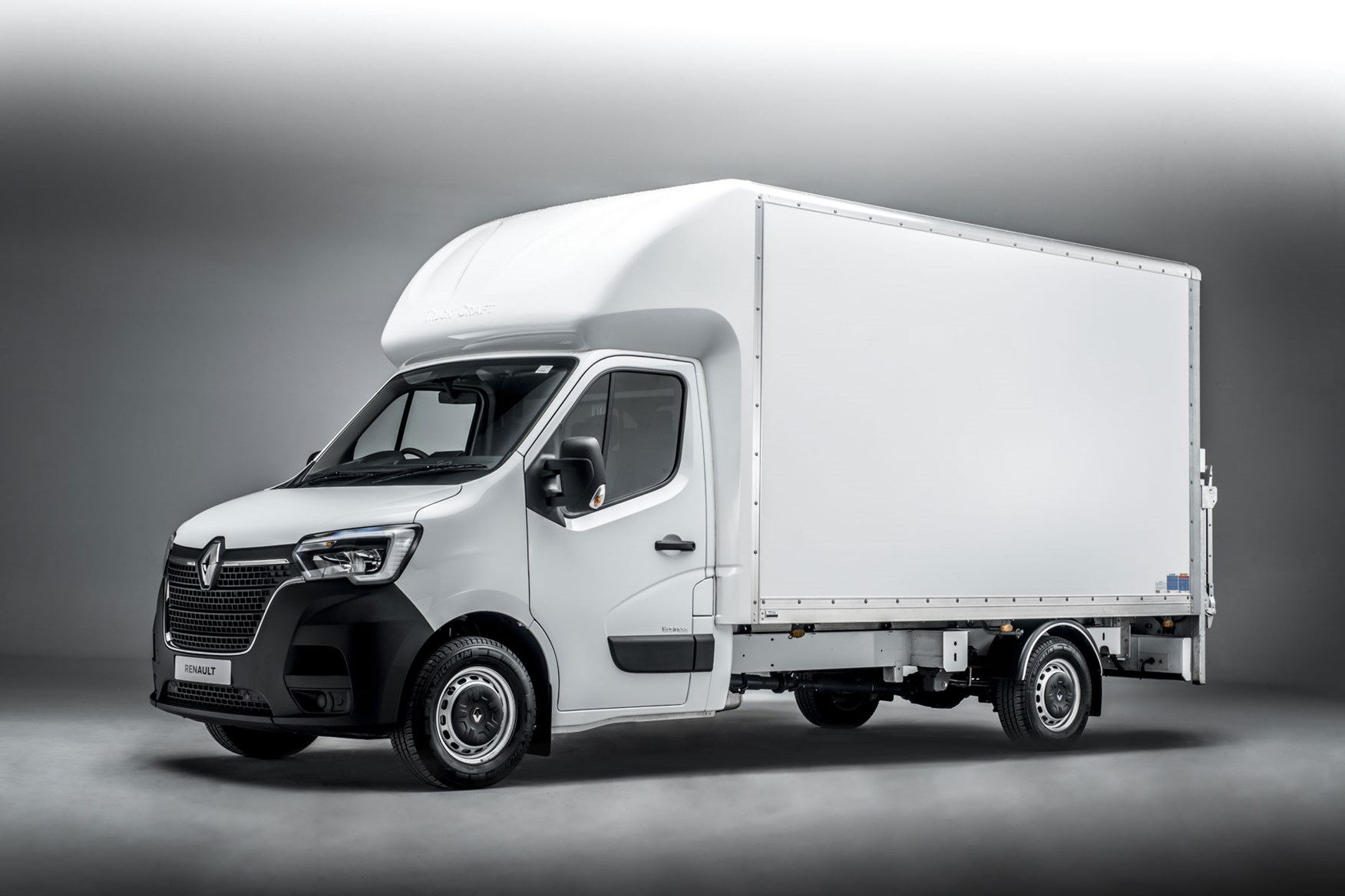 Renault Master ZE electric van review, 2020 - Luton Box van with tail-lift