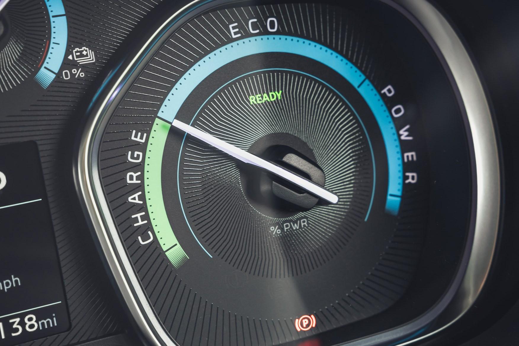 Vauxhall Vivaro-e review, 2020, energy display