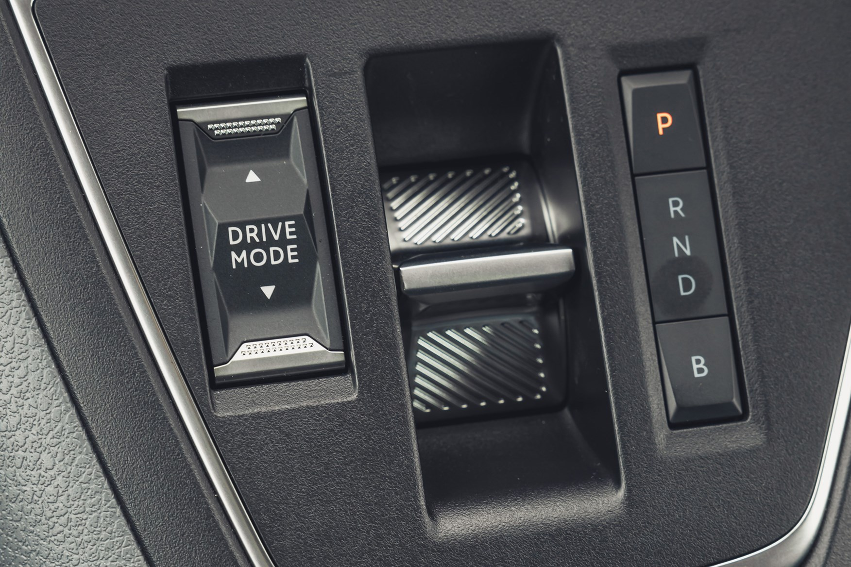 Vauxhall Vivaro-e review, 2020, electric van, gear selector and driving mode switch
