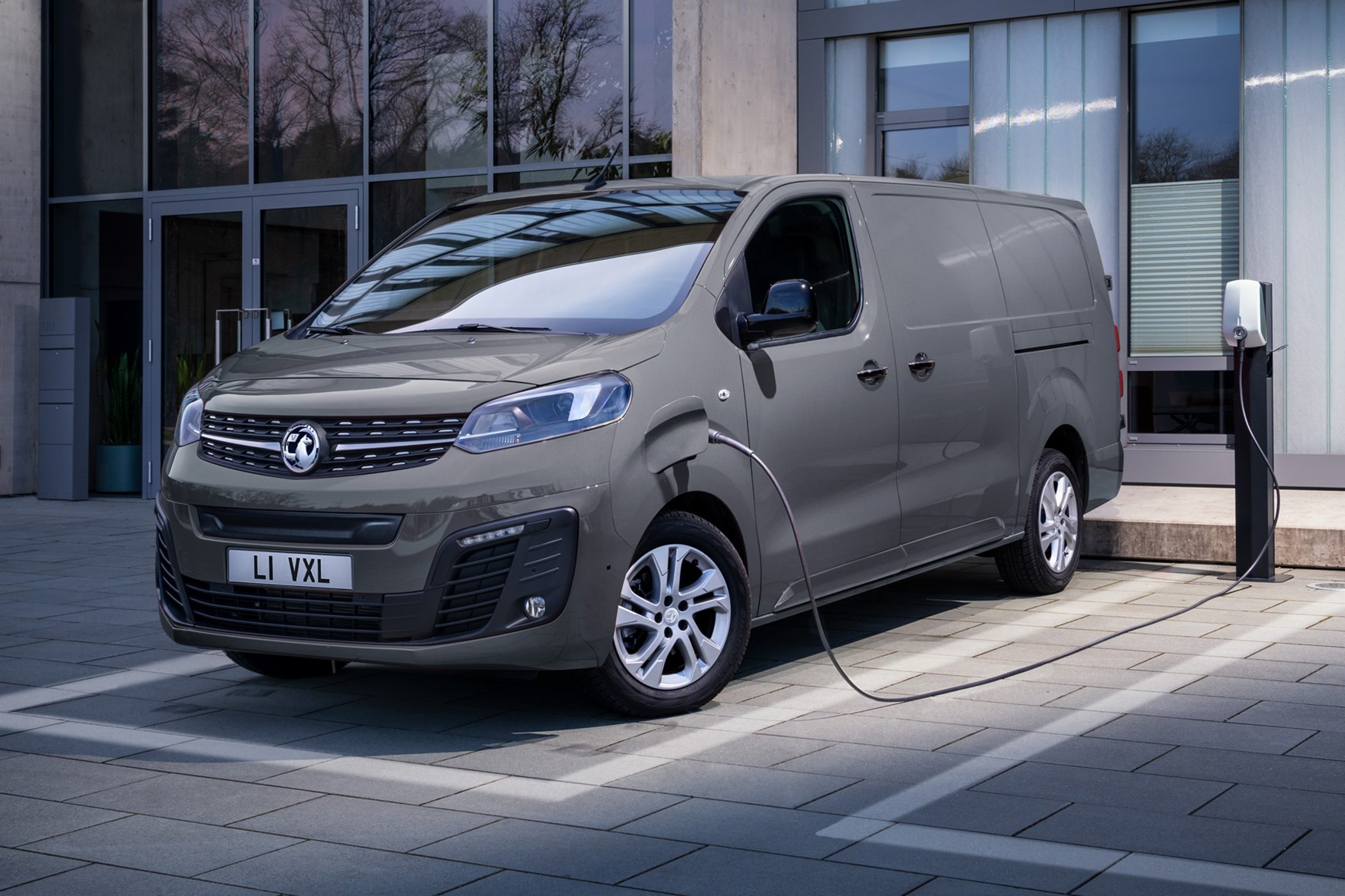 Vauxhall Vivaro-e review, 2020, plugged in to charge