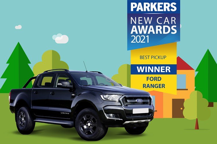 2021 Parkers pickup of the year winner - Ford Ranger