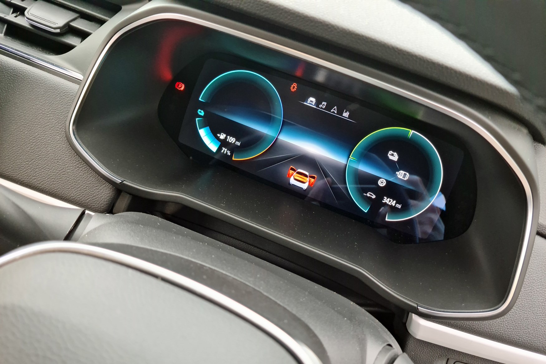 Renault Zoe Van review, 2020, digital driver's display