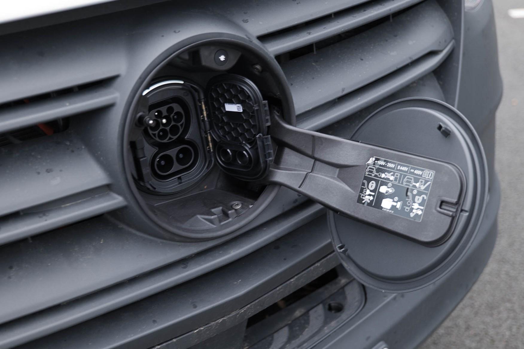 2020 Mercedes-Benz eSprinter - charging port