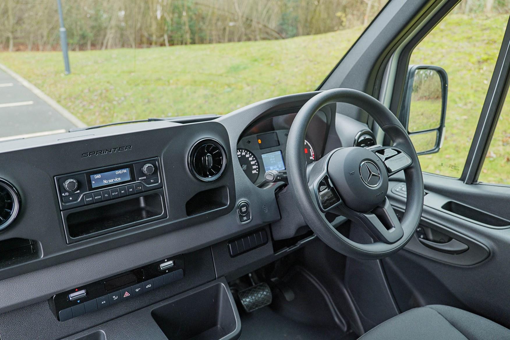2020 Mercedes-Benz eSprinter - cabin