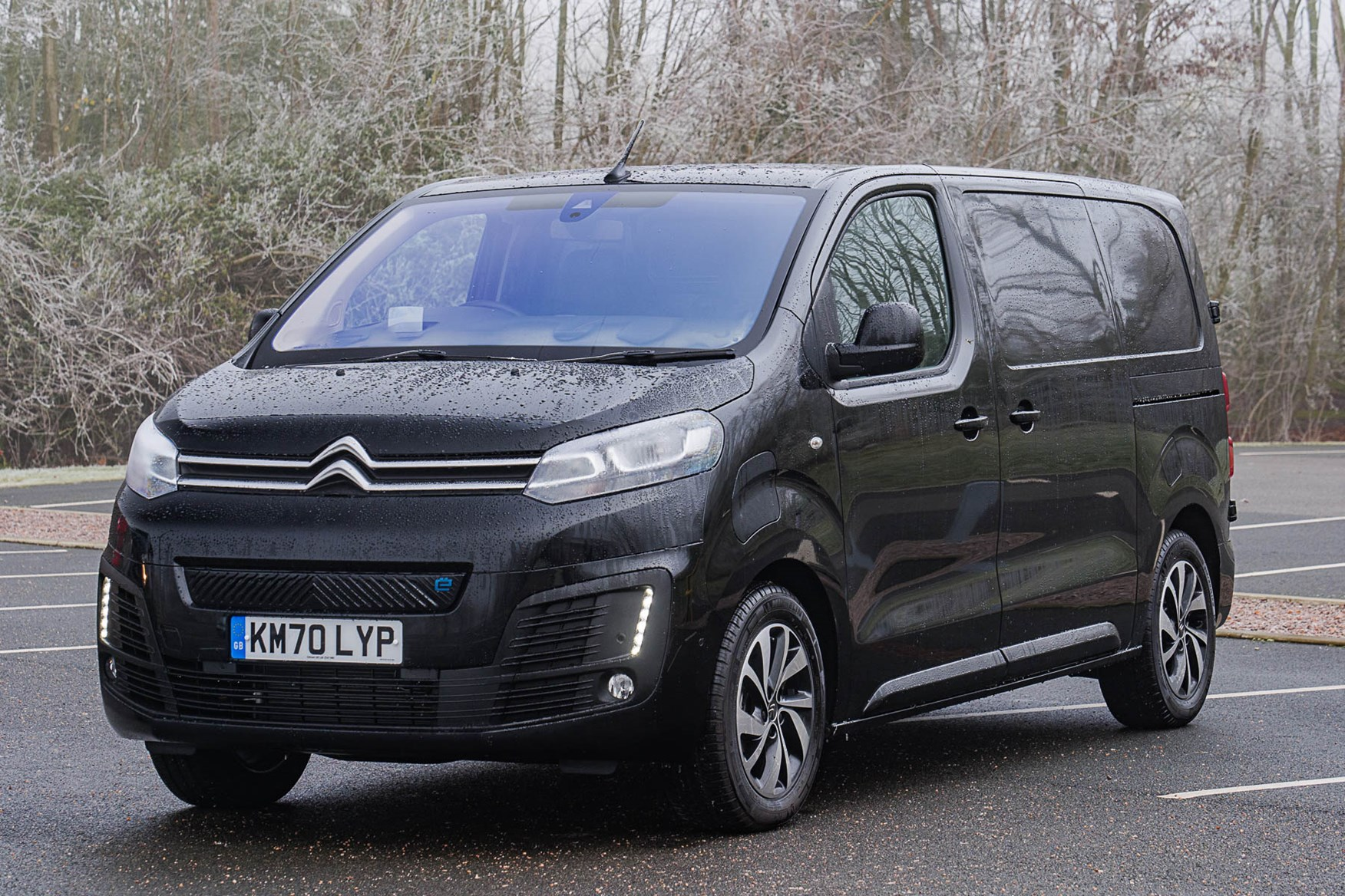 Citroen e-Dispatch, black, 75kWh, Drive