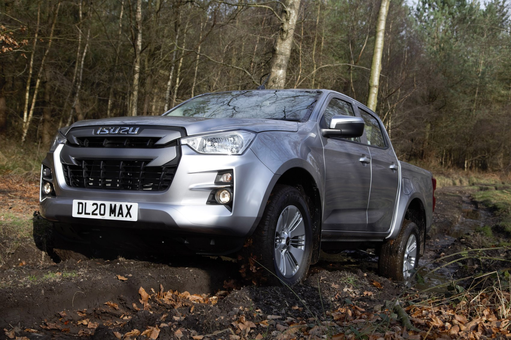 Isuzu D-Max review, 2021, DL20 off-roading, silver
