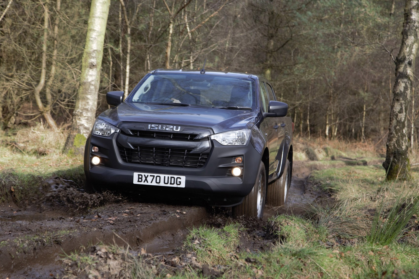 Isuzu D-Max review, 2021, Utility Double Cab, driving off-road
