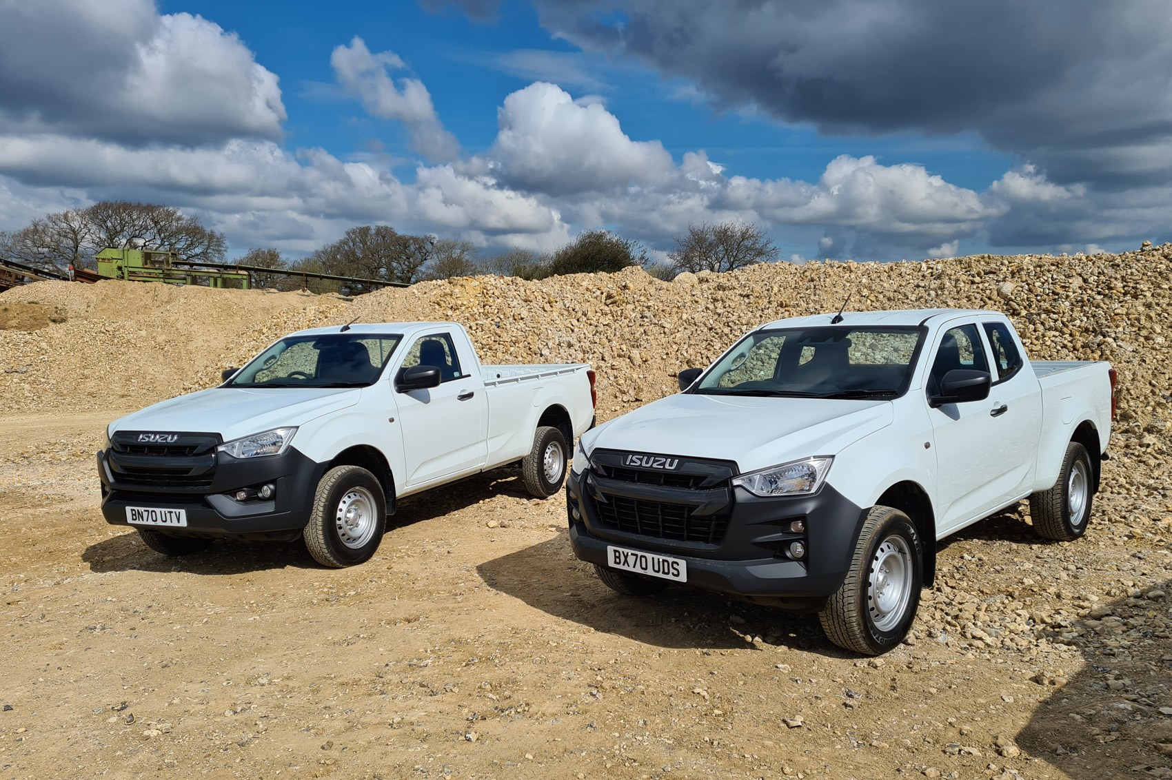 Isuzu D-Max review, 2021, Single Cab and Extended Cab, Utility, white