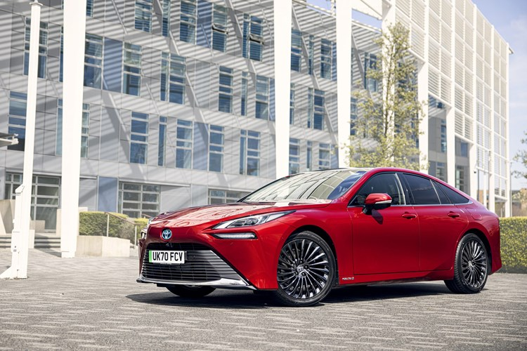 Toyota Mirai hydrogen fuel-cell