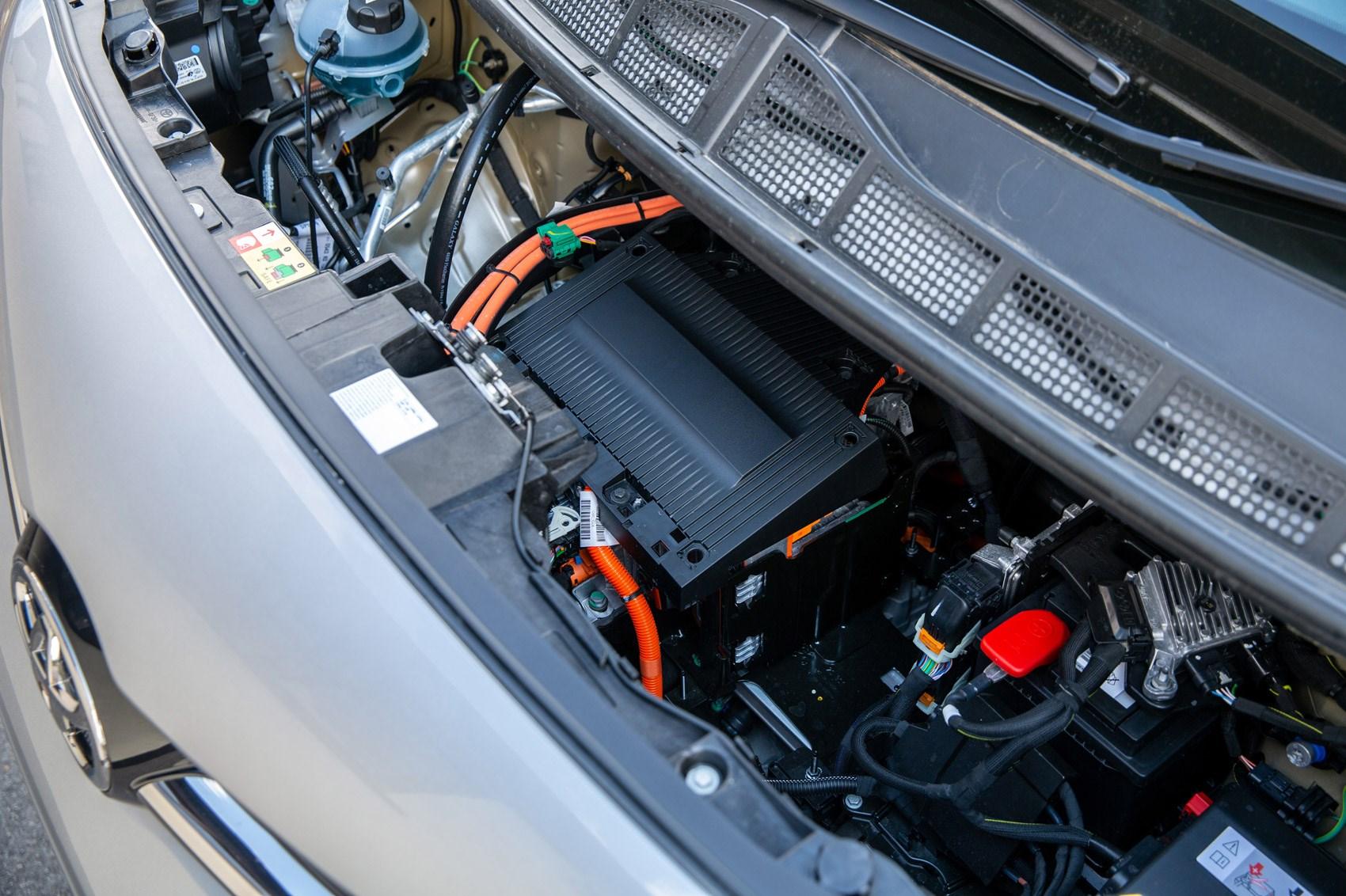 Toyota Proace Electric van review, reliability, view under bonnet