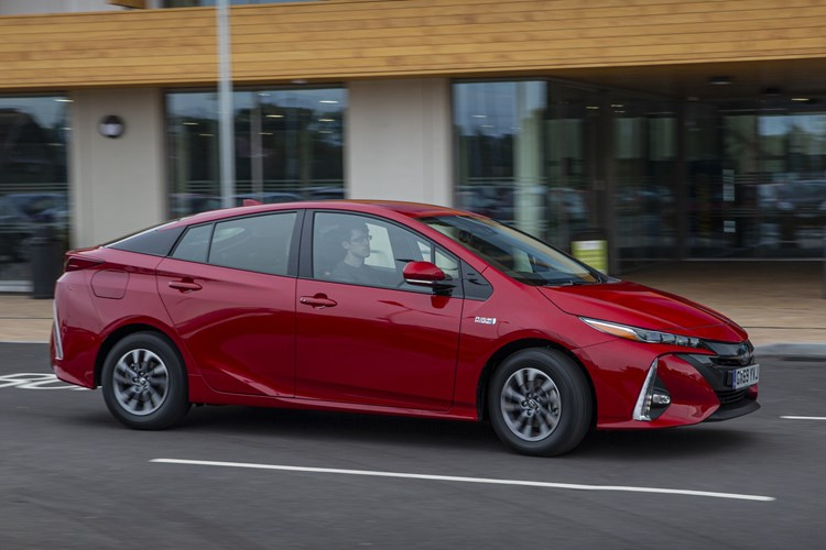 Toyota Prius Plug-in - front driving