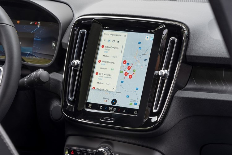 Volvo C40 - infotainment