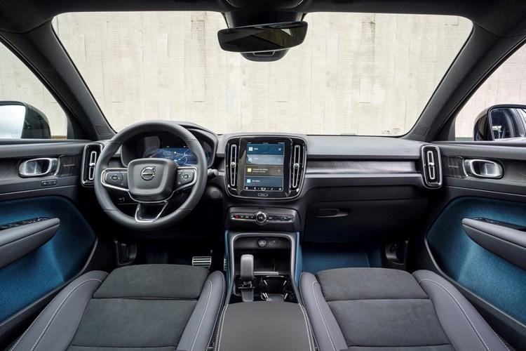 Volvo C40 - interior