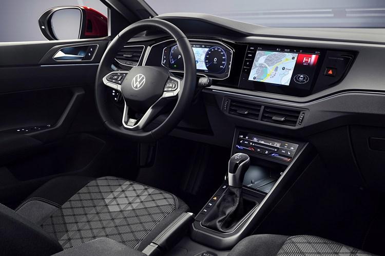Volkswagen Taigo review (2022) interior view
